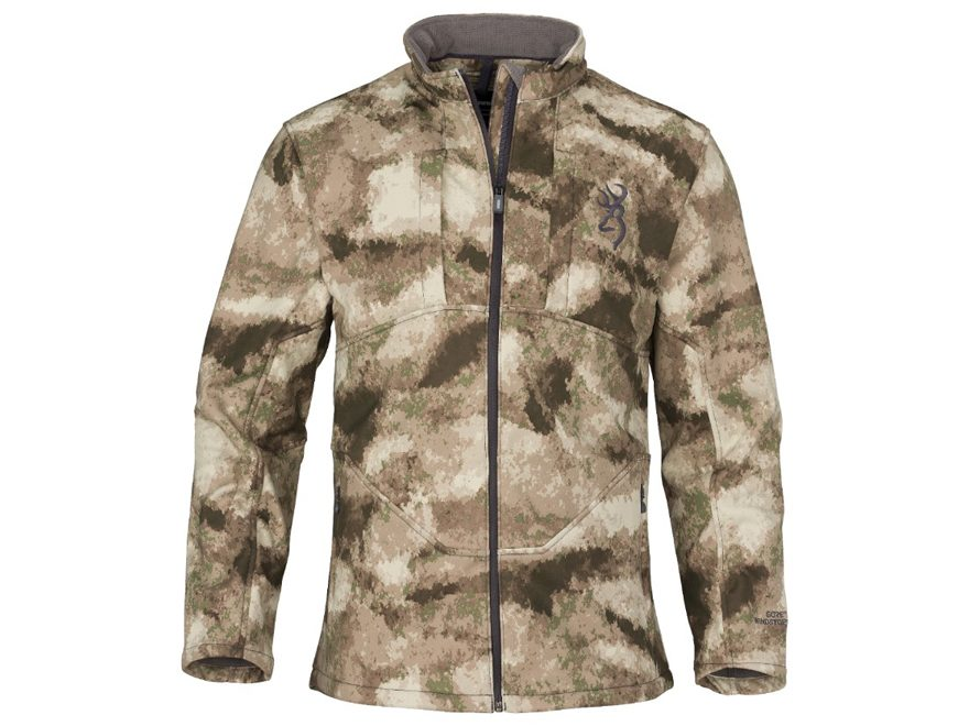 Browning Men's Hell's Canyon Speed Backcountry-FM Gore Windstopper Soft Shell Jacket Nylon