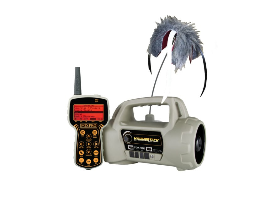 FoxPro Hammer Jack Electronic Predator Call Combo