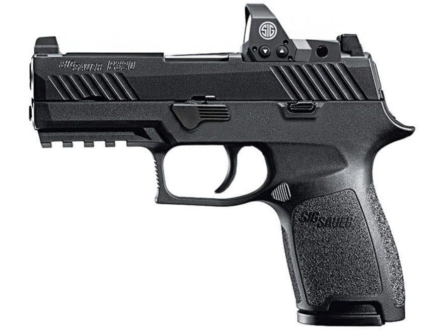 "Sig Sauer P320 RX Compact Pistol 9mm Luger 3.9"" Barrel Siglite Night Sights 15-Round Ni..."