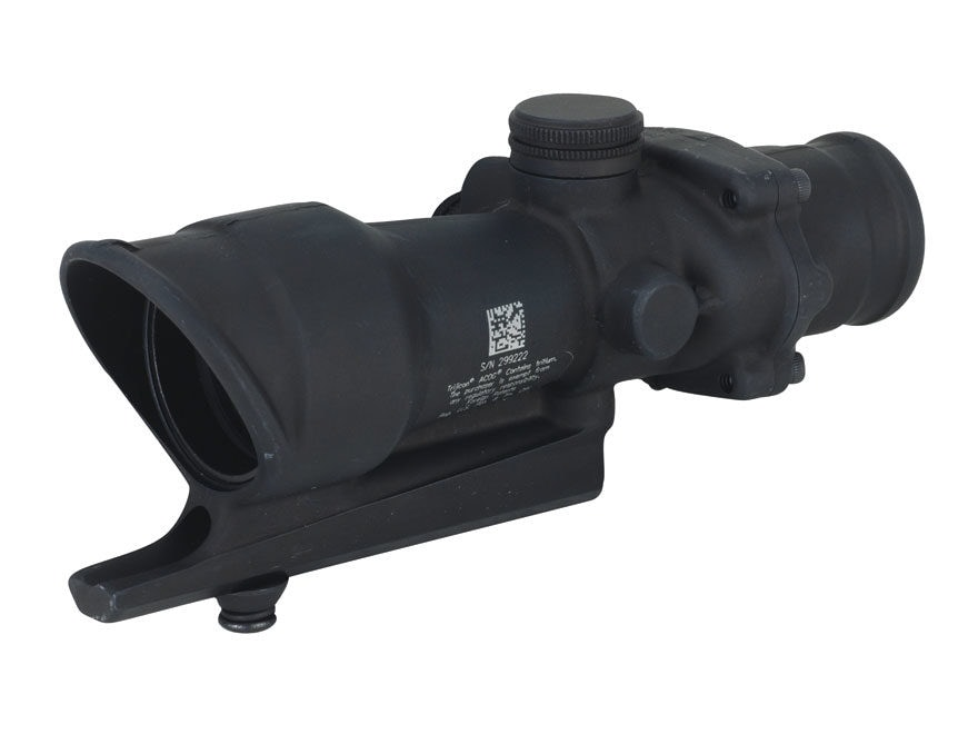 Trijicon ACOG TA01 Rifle Scope 4x 32mm Tritium Illuminated Red Full-Illuminated Crossha...