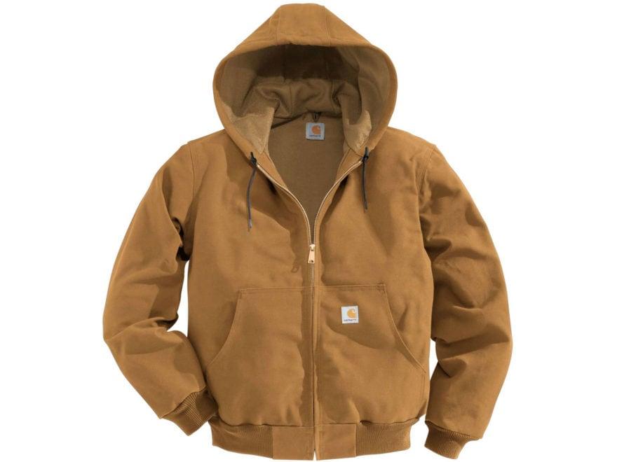 Carhartt Men's Thermal-Lined Duck Active Jacket Cotton
