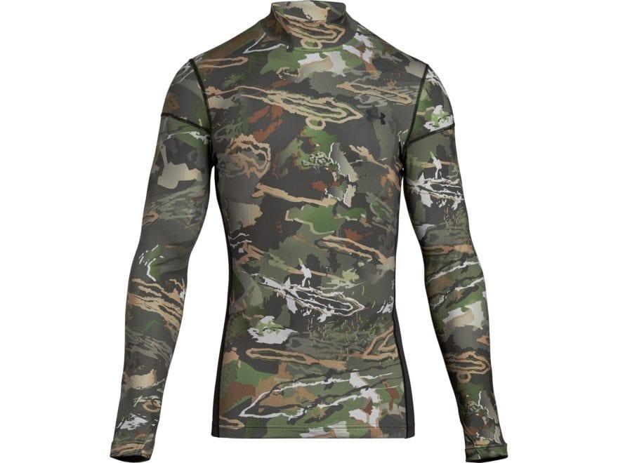 Under Armour Men's UA Reactor Base Layer Crew Shirt Long Sleeve Polyester/Elastane