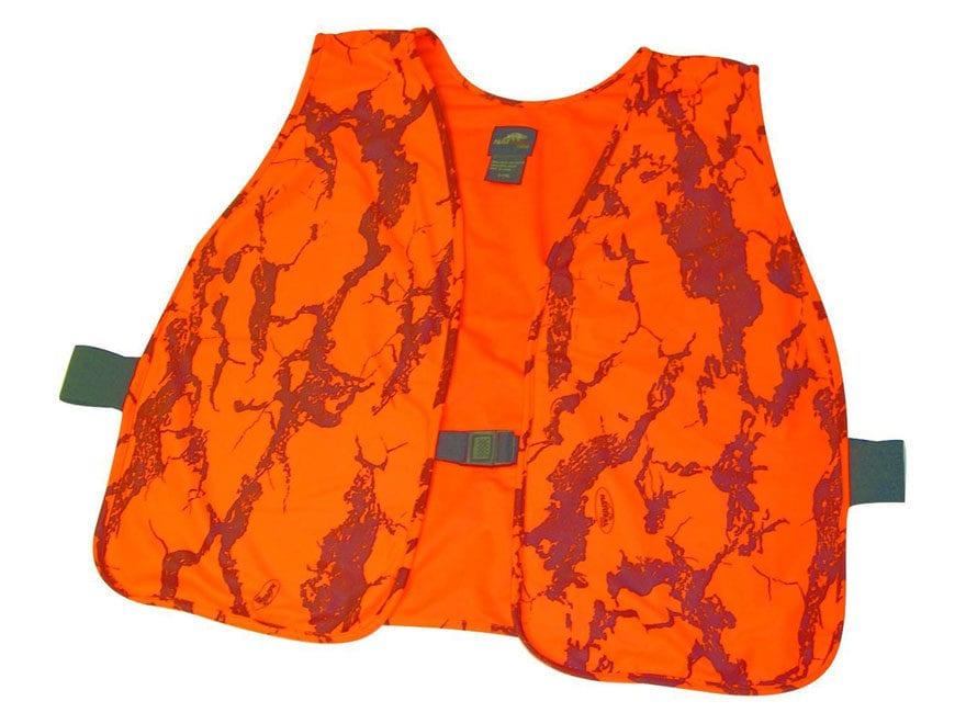 b72e480e67f44 Natural Gear Hunter's Safety Vest Polyester Natural Gear Blaze Orange Camo