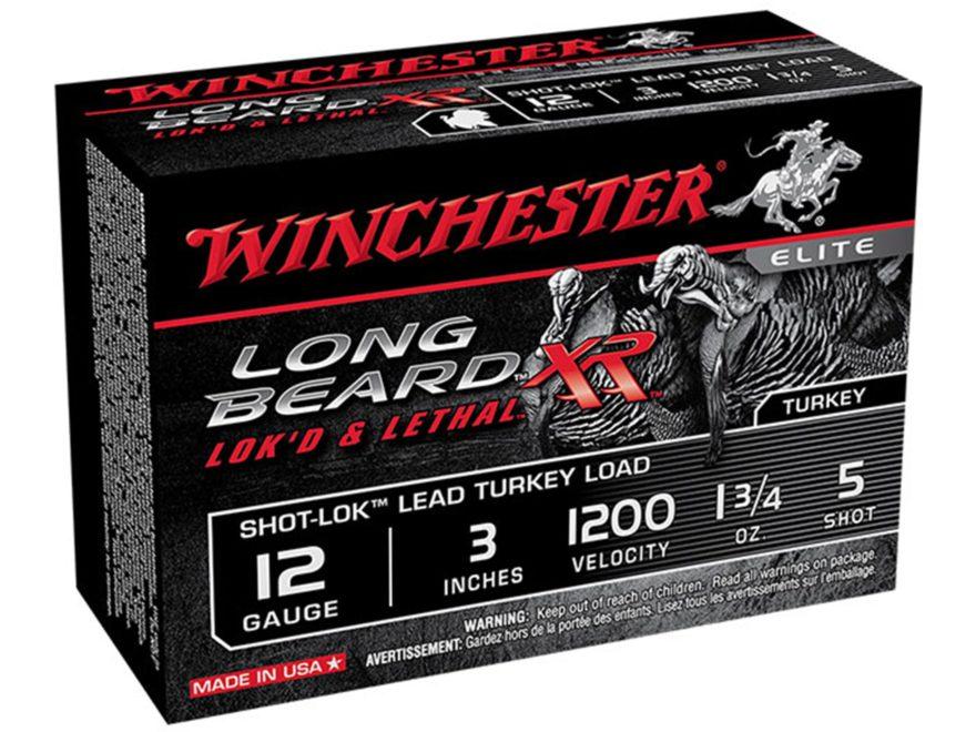 Winchester Long Beard XR Turkey Ammunition 12 Gauge Copper Plated Shot