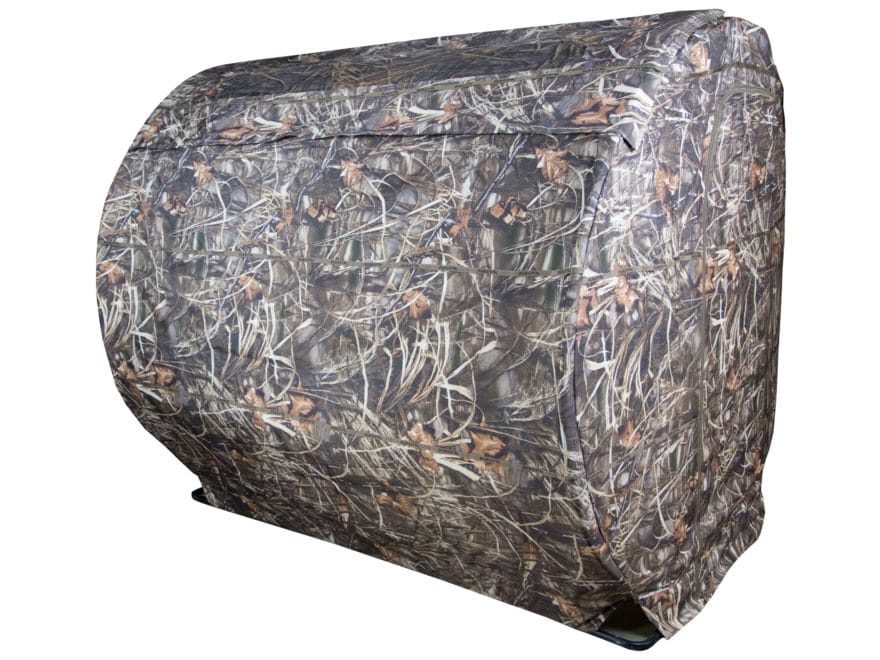 Beavertail Outfitter Hay Bale Ground Blind 600D Fabric Realtree Max-4 Camo