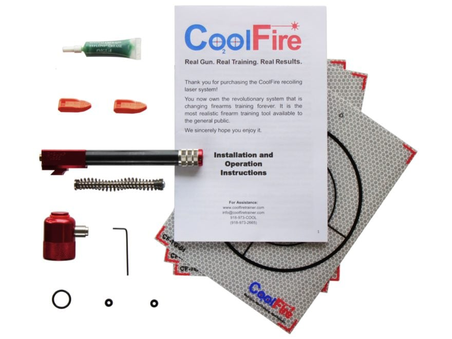 CoolFire Recoil Laser Kit with 20 oz. CO2 Fill Adapter