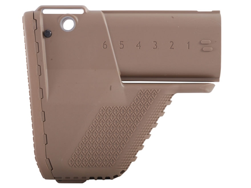 Vltor Enhanced SCAR Buttstock FN SCAR Mk16, 16S, Mk17, 17S Synthetic