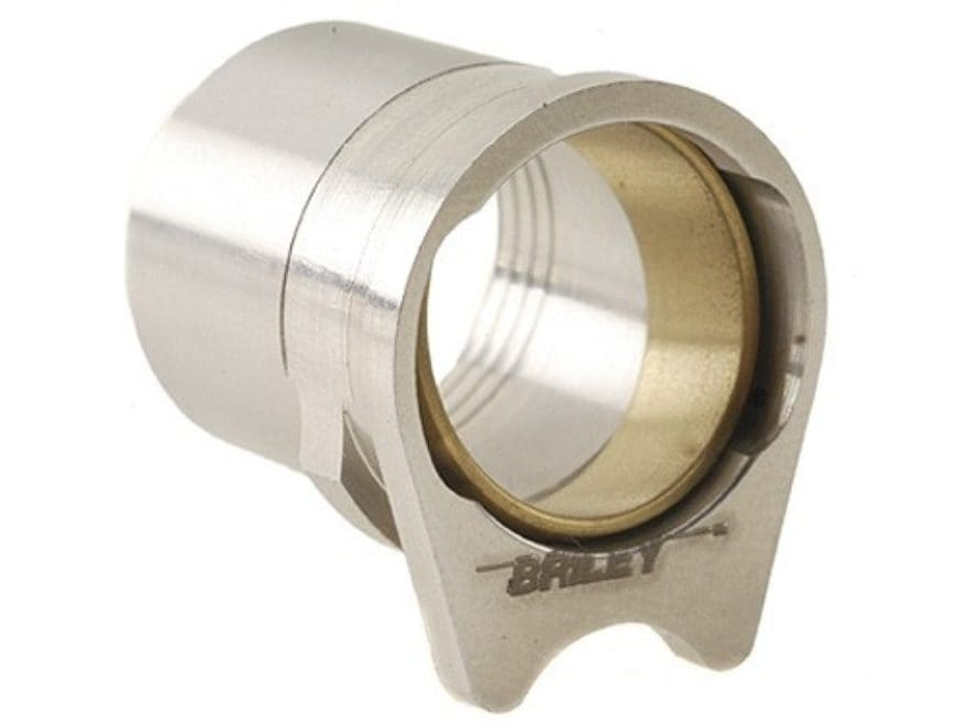 """Briley Drop-In Spherical Barrel Bushing with .579"""" Ring 1911 Government Stainless Steel"""