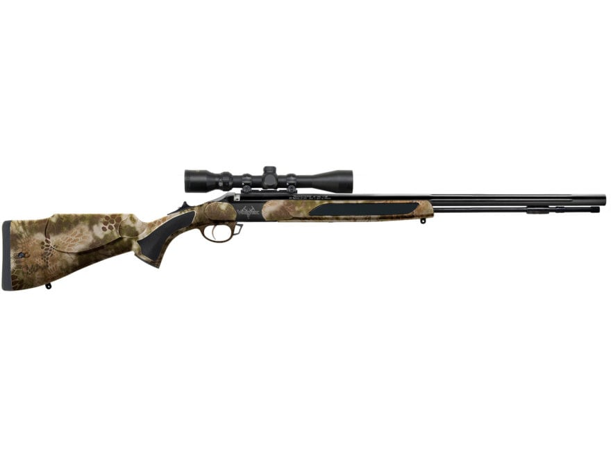 Traditions Vortek StrikerFire Back Country Muzzleloading Rifle with 3-9x40mm Scope 50 C...