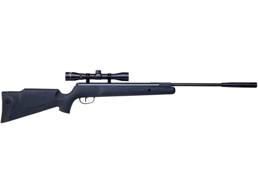 Crosman Fury Nitro Piston Break Barrel Air Rifle 177 Caliber Pellet Black Synthetic Sto...