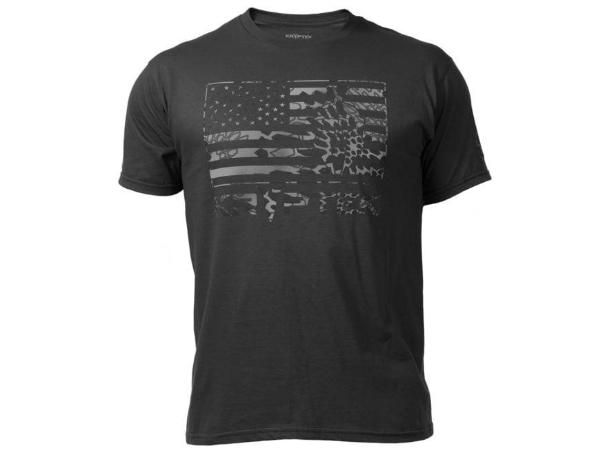Kryptek Men's Flag T-Shirt Short Sleeve Cotton/Poly
