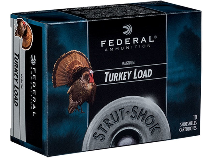 "Federal Strut-Shok Turkey Ammunition 20 Gauge 3"" 1-1/4 oz Buffered #5 Shot"