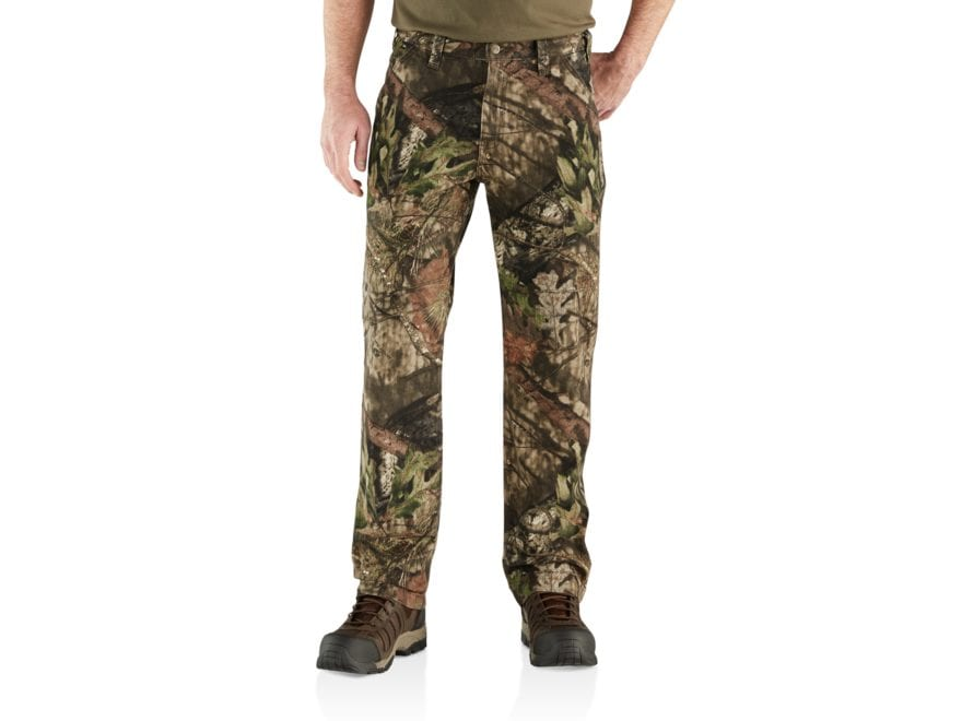 Carhartt Men's Rugged Flex Rigby Camo Dungarees Cotton/Spandex