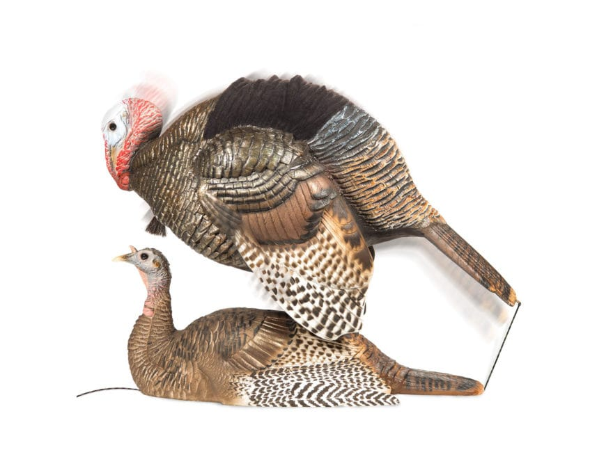 Dave Smith Decoys DSD Mating Hen & Mating Motion Jake Turkey Decoy Combo Pack