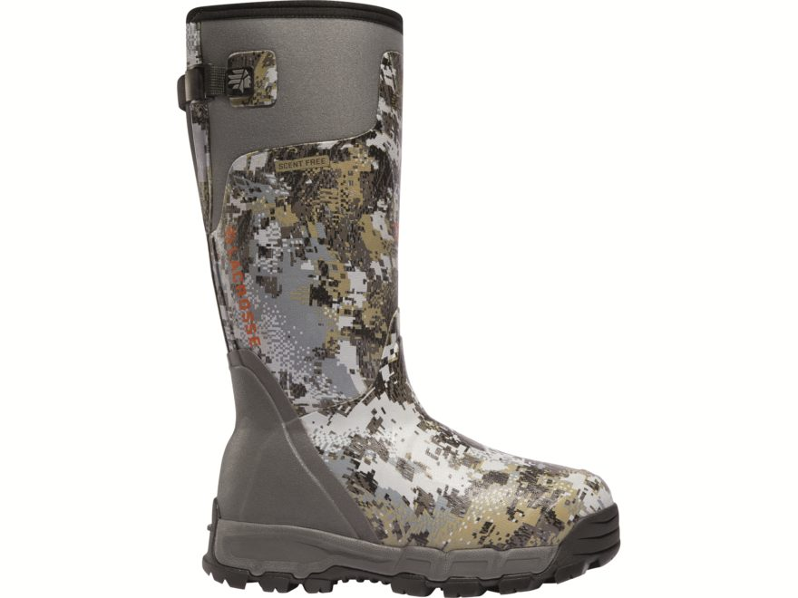 "LaCrosse Alphaburly Pro 15"" Insulated Hunting Boots Rubber Clad Neoprene Women's"