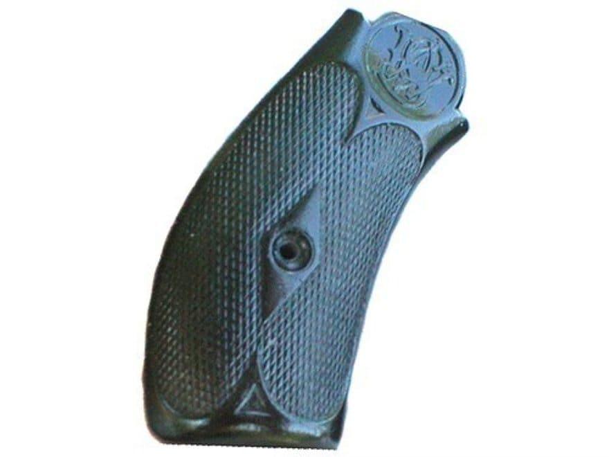Vintage Gun Grips S&W New #3 Break Top Round Butt 44 Caliber Polymer Black