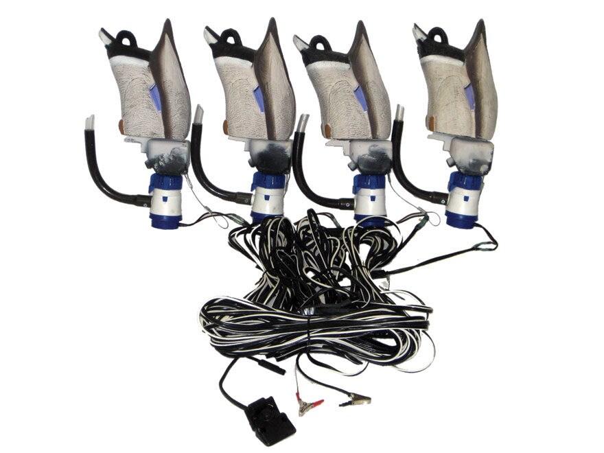 Higdon Pulsator 2 Plug N Hunt Drake 4 Unit Hard Wired Motion Duck Decoy System