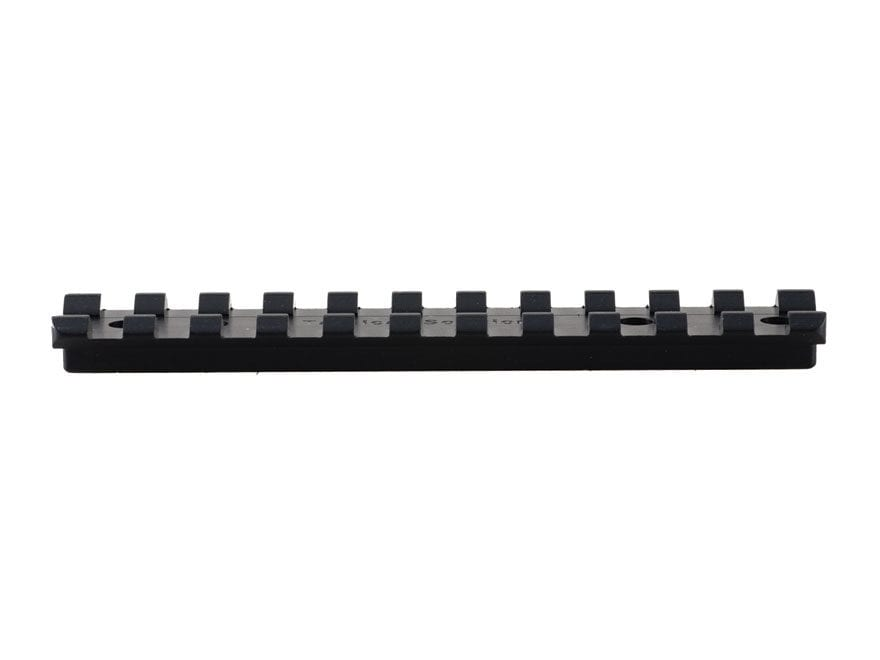 Tactical Solutions 1-Piece Picatinny-Style Scope Base Ruger 10/22 Black