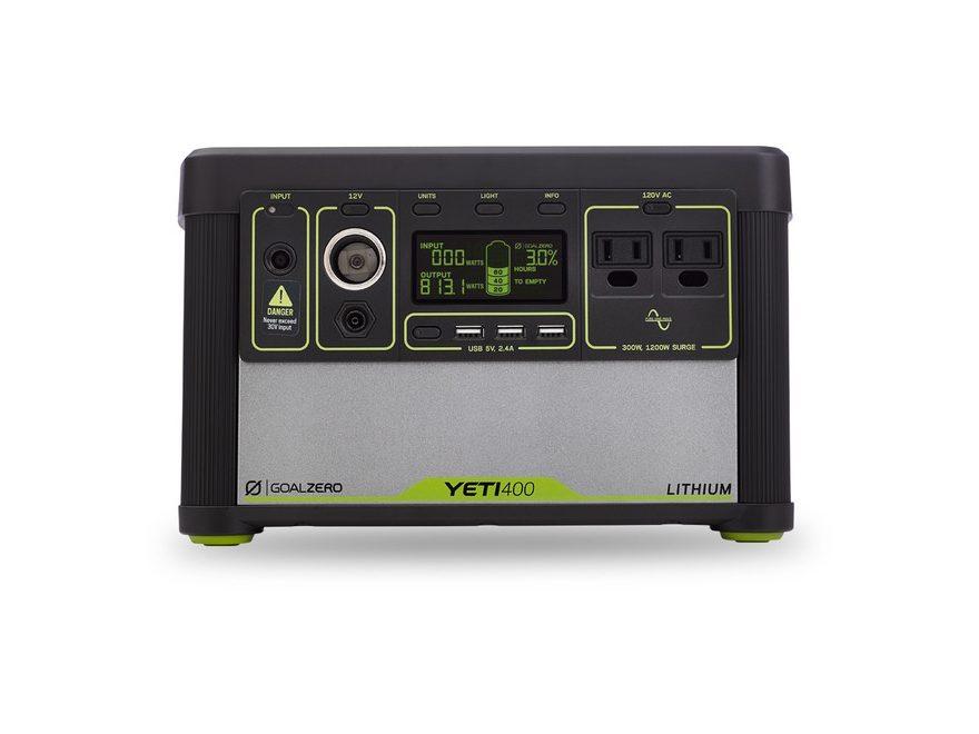 GoalZero Yeti 400 Lithium Portable Solar Power Station