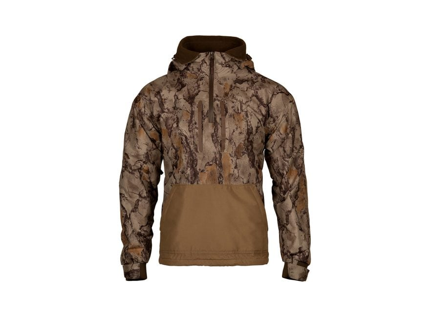 Natural Gear Men's Cutdown 1/4 Zip Jacket Polyester Natural Camo