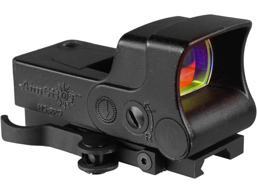 AimShot HG-Pro Reflex Green Dot Sight Dot Reticle with Integral Quick Release Weaver-St...