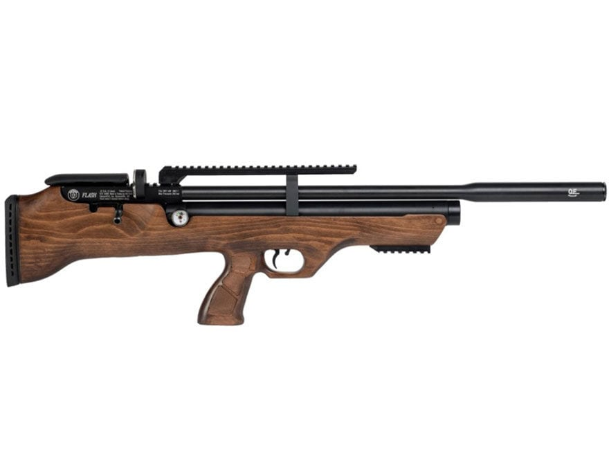 Hatsan FlashPup QE PCP Air Rifle Pellet Hardwood Stock