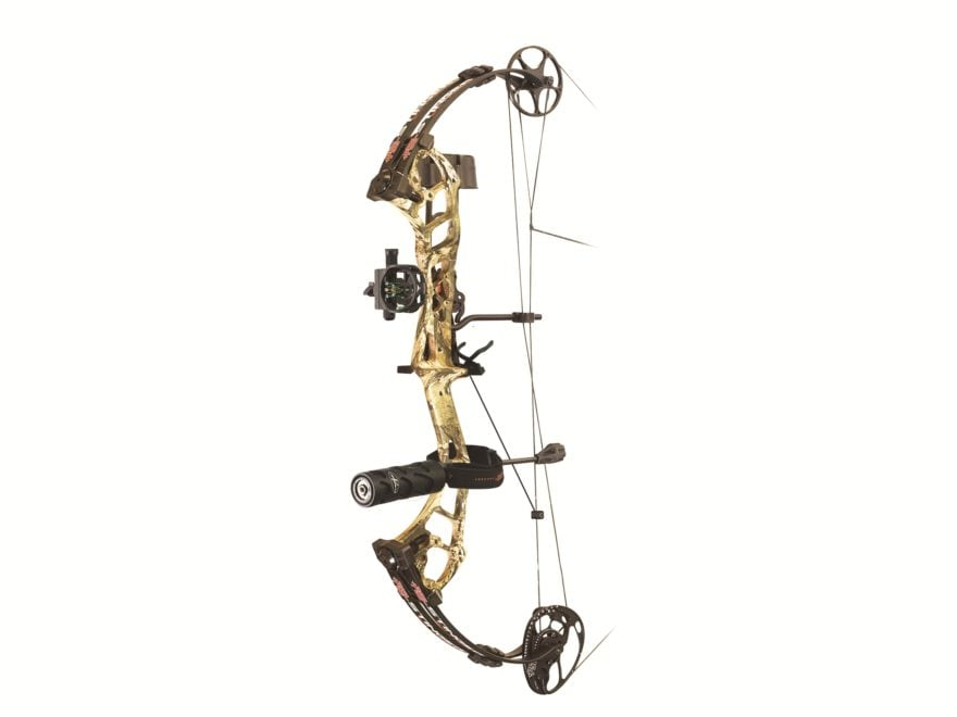 "PSE Stinger Extreme FR Compound Bow Package Right Hand 70 lb 21""-30"" Draw Length Mossy ..."