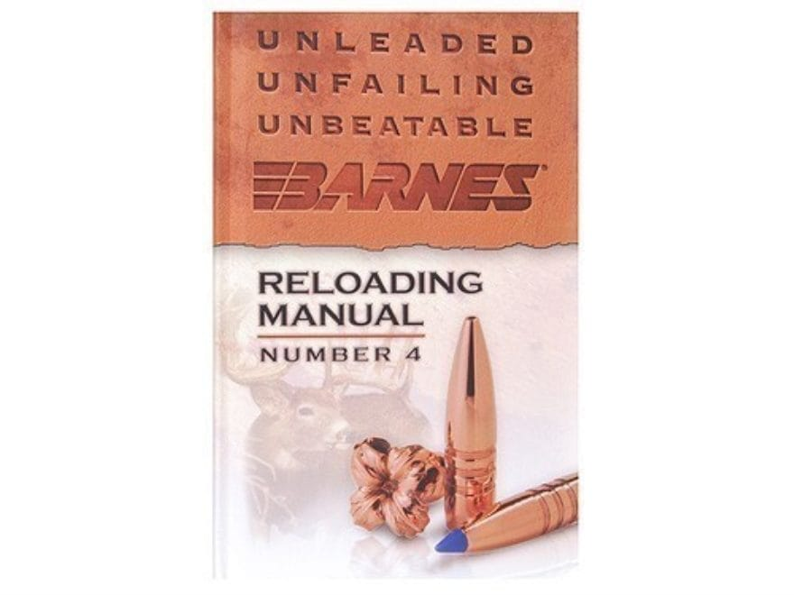 Barnes Reloading Manual: Number 4