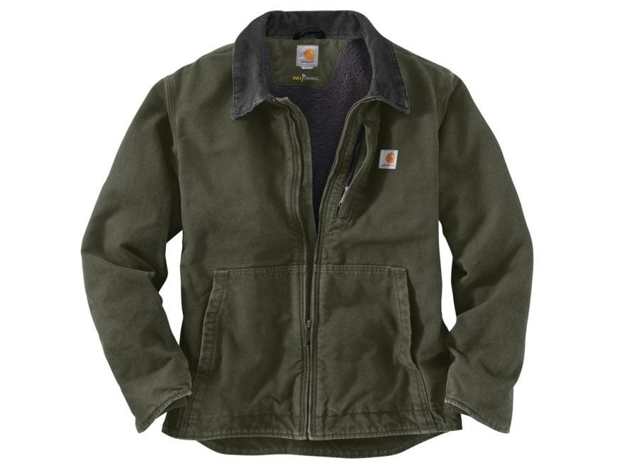Carhartt Men's Sandstone Full Swing Sherpa-Lined Jacket Cotton