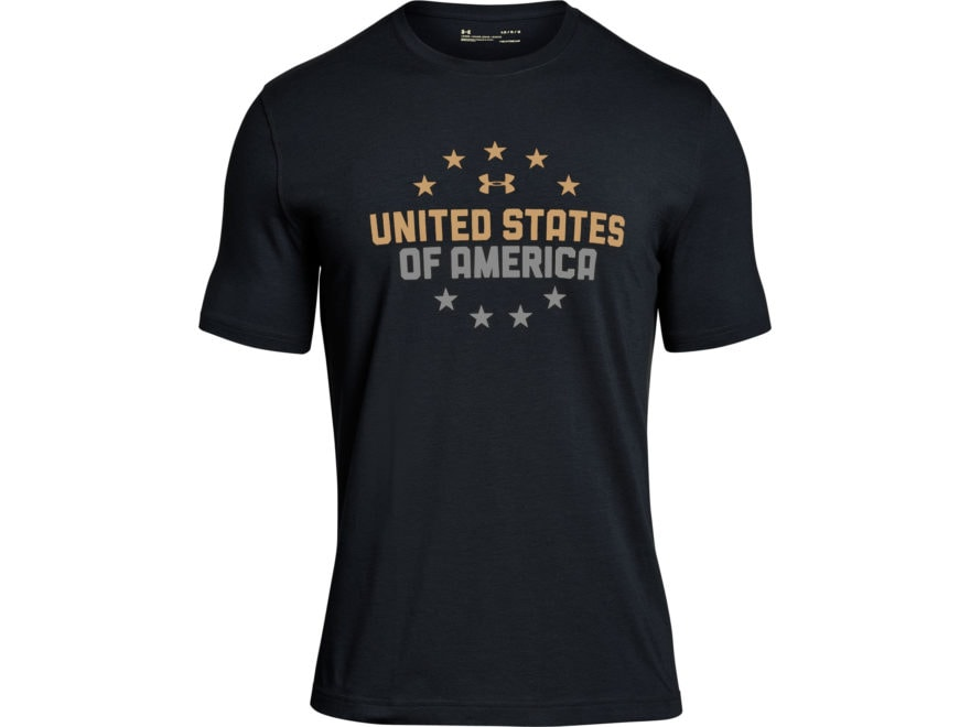 Under Armour Men's UA Freedom USA One Nation T-Shirt Short Sleeve Charged Cotton