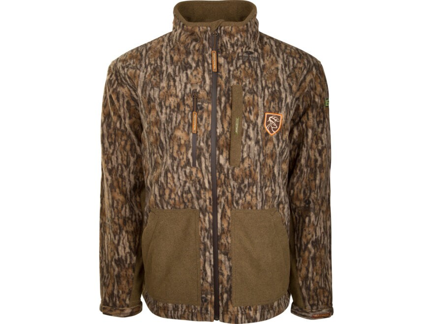 Drake Non-Typical Men's Scent Control Hydrohush Midweight Full-Zip Jacket Polyester