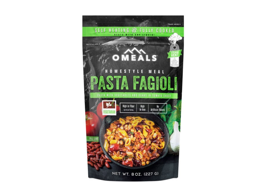 OMEALS Pasta Fagioli Self Heating Meal
