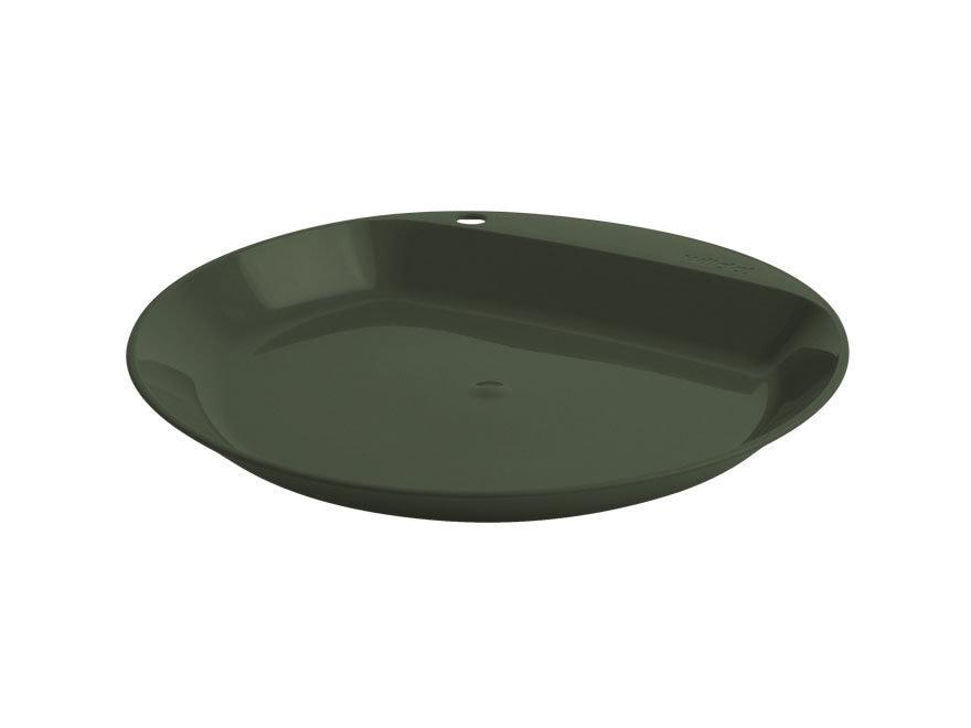 Wildo Flat Camper Plate Polymer Olive Drab