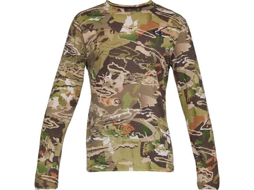 Under Armour Men/'s Ridge Reaper Forest UA Early Season Hunting Long Sleeve Shirt