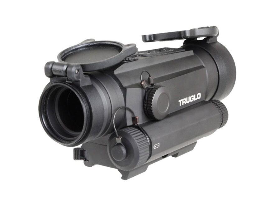 TRUGLO Tru Tec Red Dot Sight 30MM 1x 2 MOA Reticle Picatinny Style Mount Matte