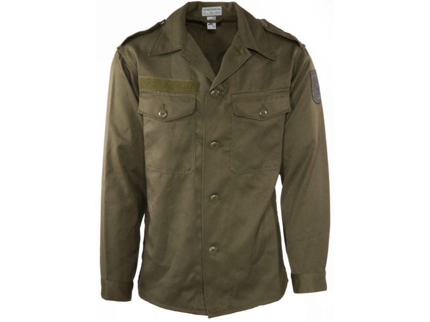 Military Surplus Austrian Field Shirt Olive Drab