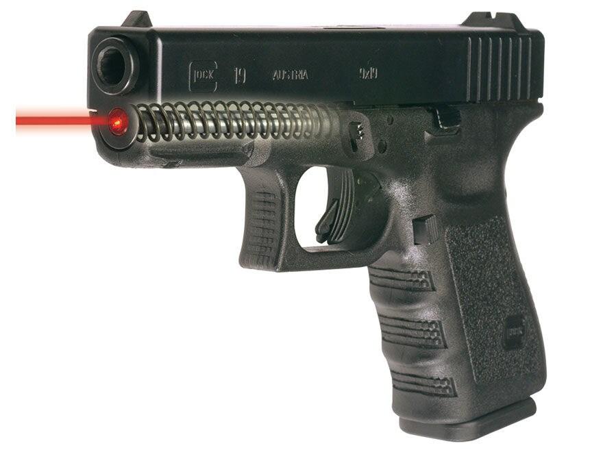 Green glock guide rod laser.