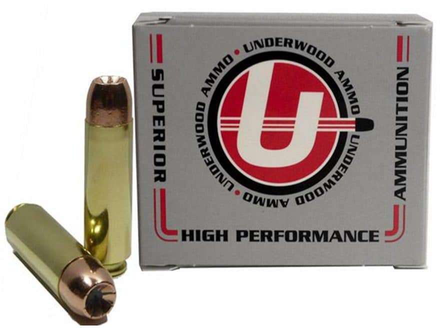 Underwood Ammunition 50 Beowulf 300 Grain Bonded Jacketed Hollow Point Box of 20