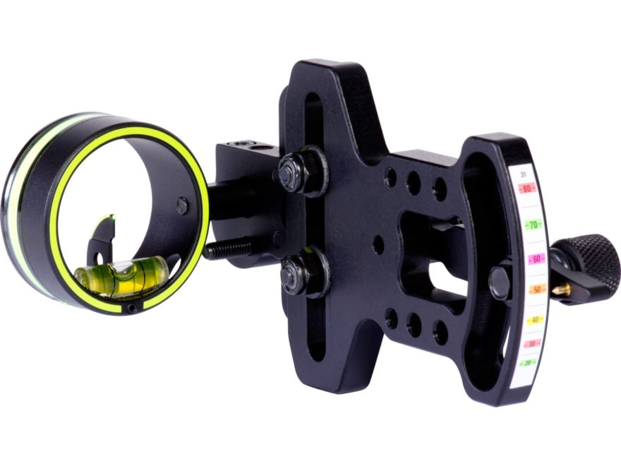 "HHA Sports Optimizer Lite 3019 1-Pin Bow Sight with Scope .019"" Pin Diameter Right Hand..."