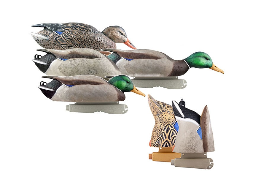 GHG Pro-Grade Mallard Duck Decoy Pack of 6