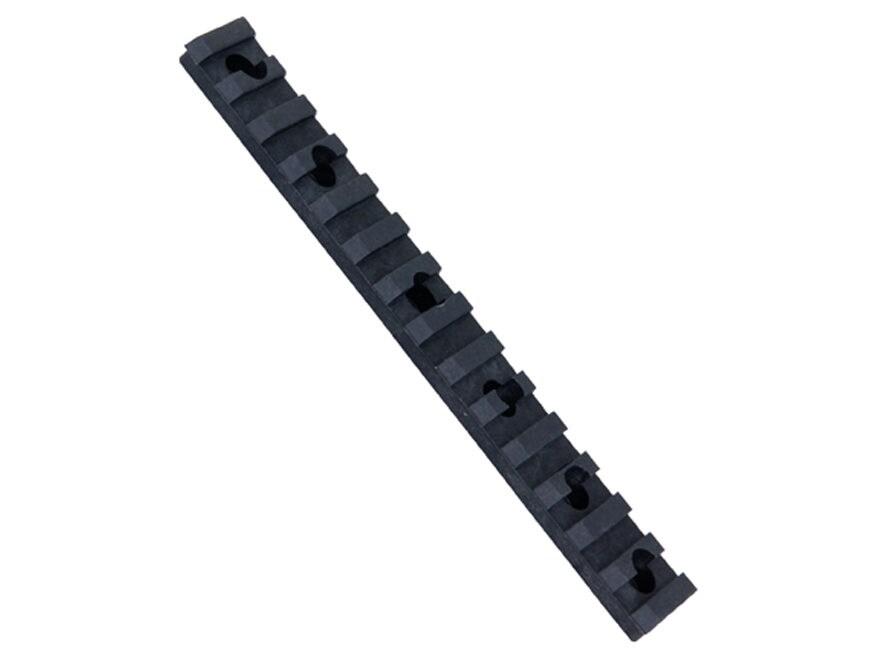 "ERGO Xtreme Service Picatinny Rail with Mounting Hardware Universal 6"" Polymer Black"