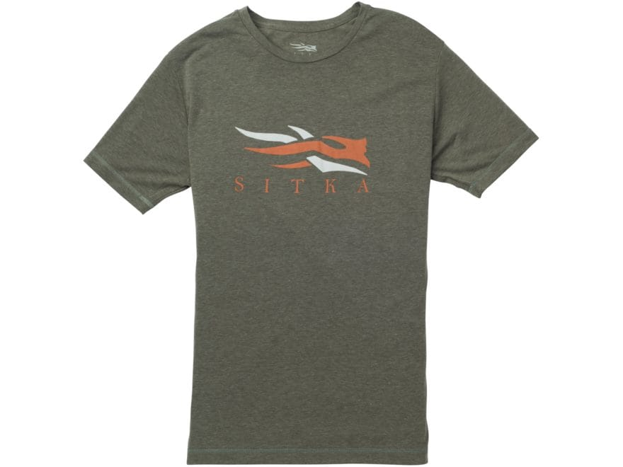 Sitka Gear Men's Sitka Logo T-Shirt Short Sleeve Polyester/Cotton