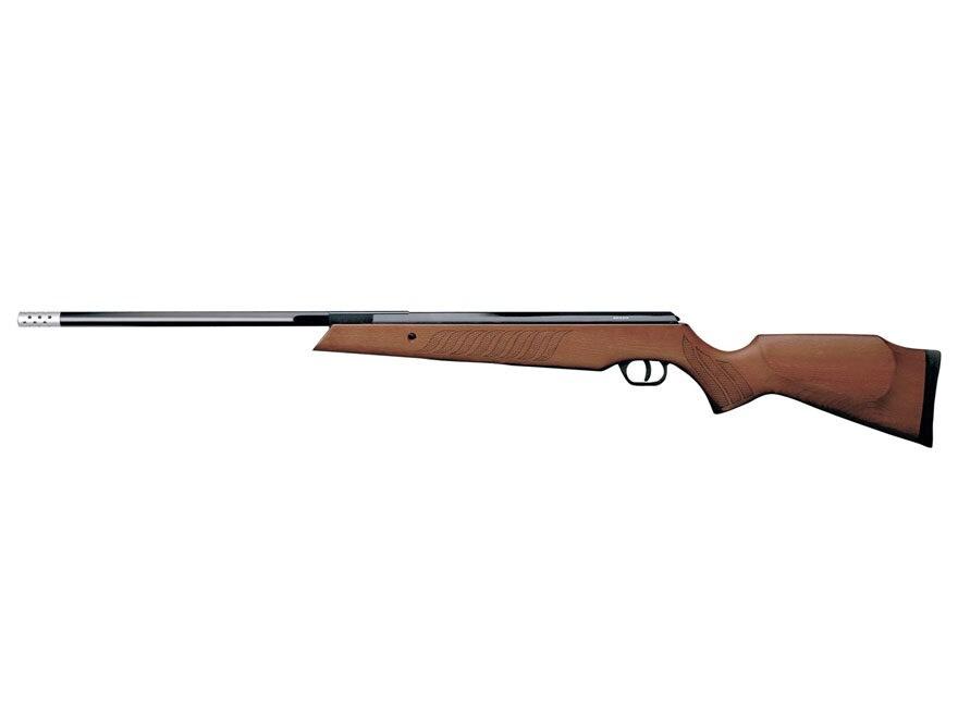Airforce Model 95 Break Barrel Air Rifle Pellet Brown Hardwood Stock Blued Barrel