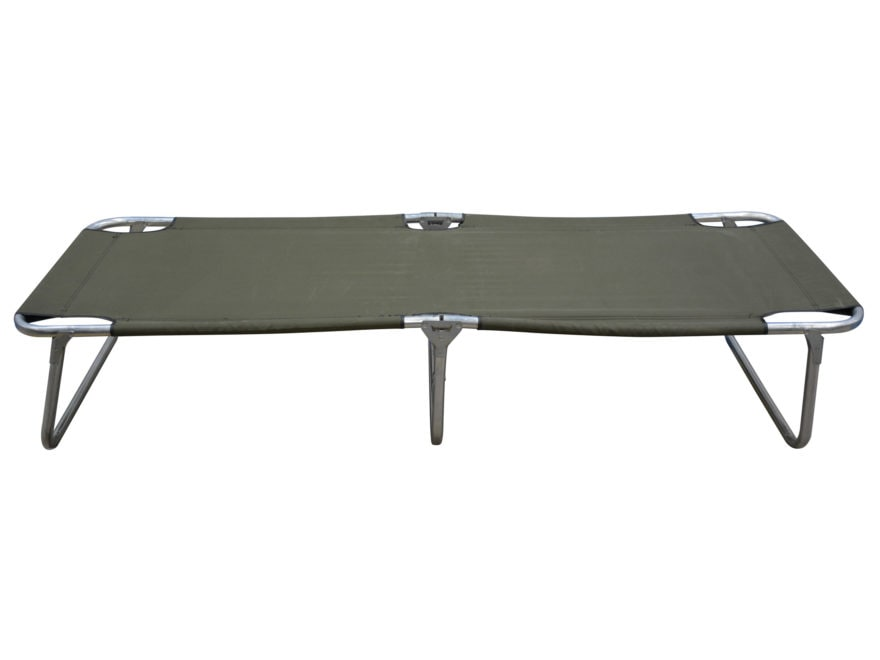 Military Surplus Folding Frame Cot Grade 2 - MPN: Folding Cot (Gr 2)