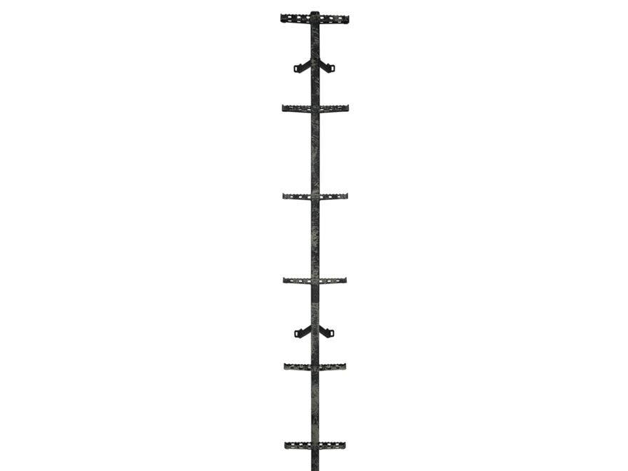 Hawk Traction Treestand Climbing Stick 20' Steel Gray