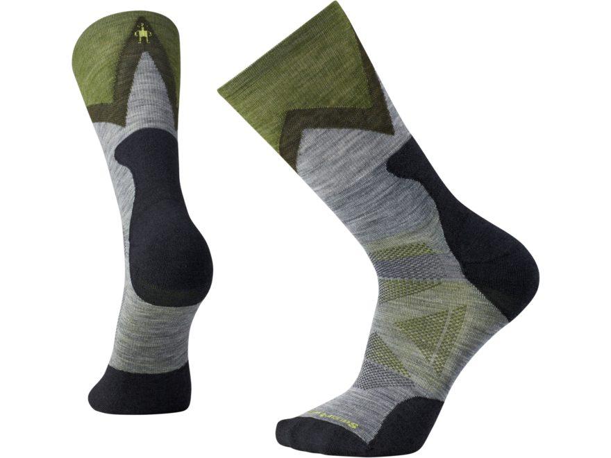 Smartwool Men's PhD Pro Approach Light Elite Crew Socks Merino Wool/Nylon