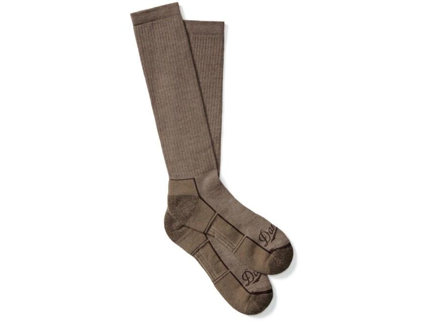 Danner Men's Lightweight Over-the-Calf Hunting Socks Poly/Nylon/Merino Brown