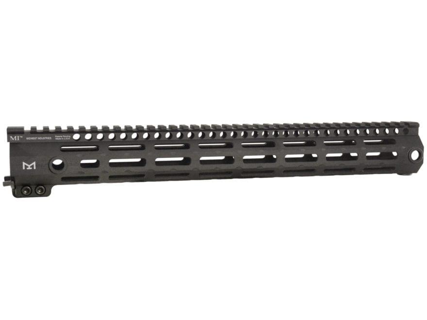 Midwest Industries 3gm Series Free Float Gen 3 M Lok Handguard Ar 15