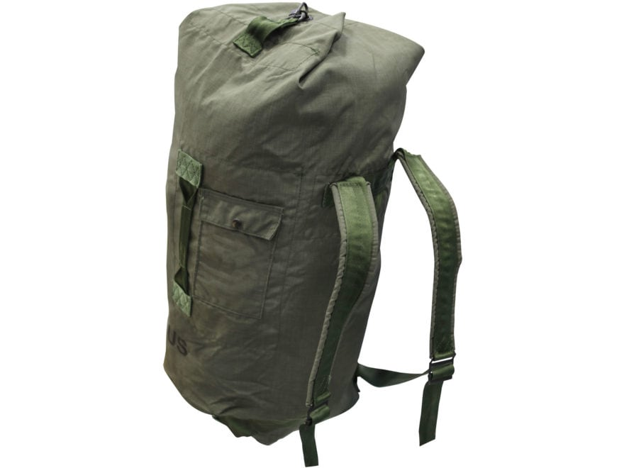 Military Surplus Duffel Bag Olive Drab