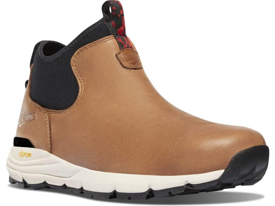 """Danner Mountain 600 Chelsea 4.5"""" Hiking Boots Full Grain Leather Men's"""